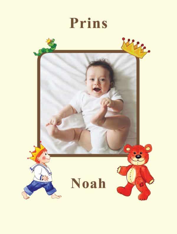 Fotoside dreng babybog