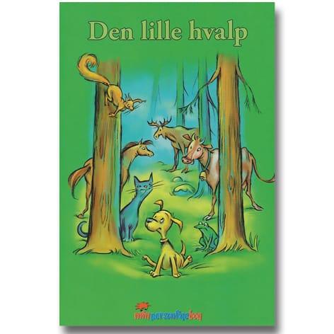 Den lille hvalp - personlig børnebog med navn