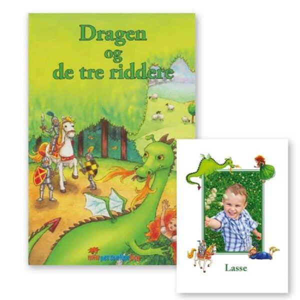 Dragen og de tre riddere – personlig børnebog med navn og foto