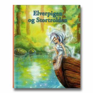Elverpigen og Stortrolden - personlig børnebog med navn
