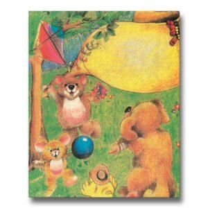Dyrenes Eventyrland - personlig børnebog med barnets navn - Min Personlige Bog