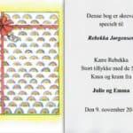 Fødselsdagsbogen 1