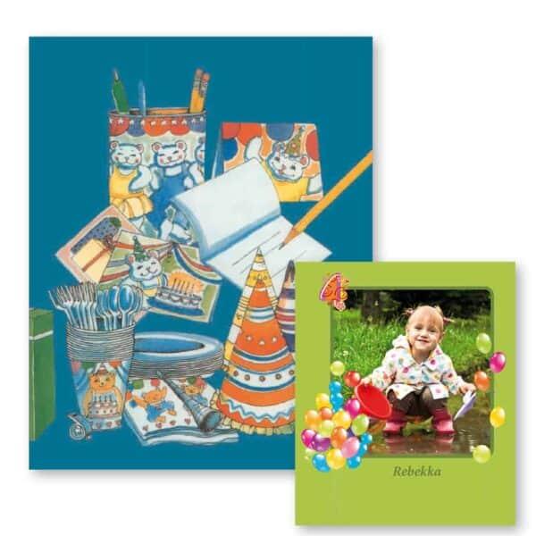 Fødselsdagsbogen med fotoside