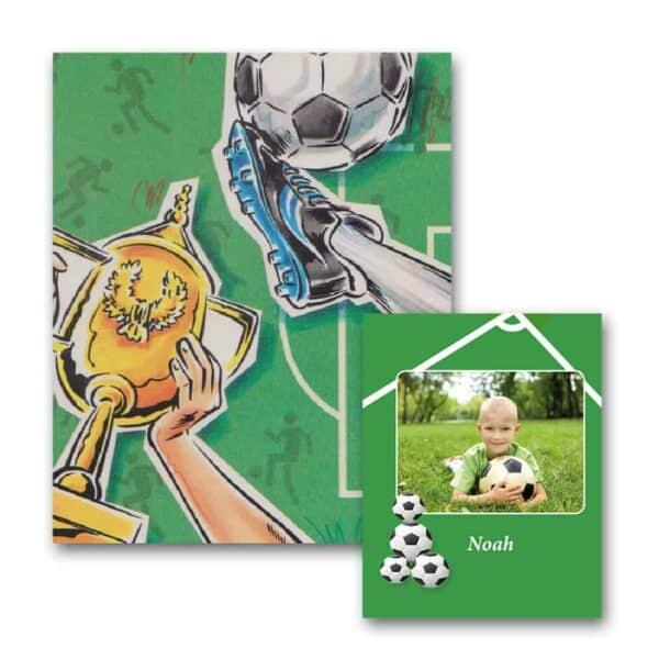 Fodboldbogen med foto