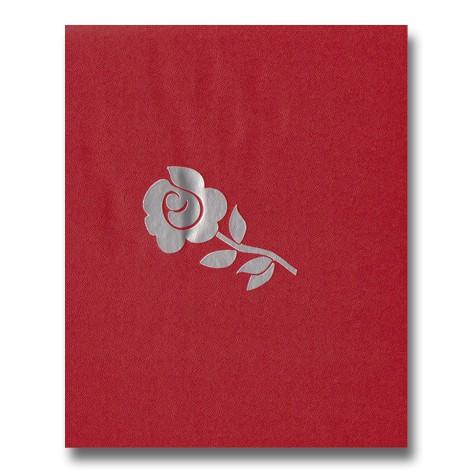 gæstebog rød rose