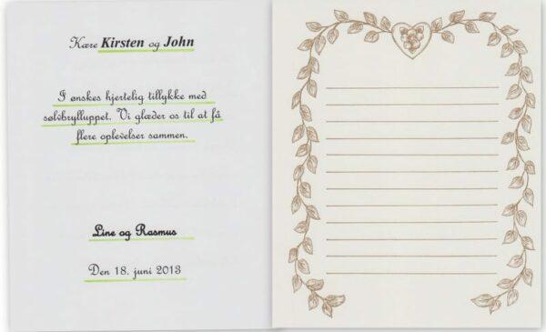 Bryllupdagsbogen - mindebogen-598