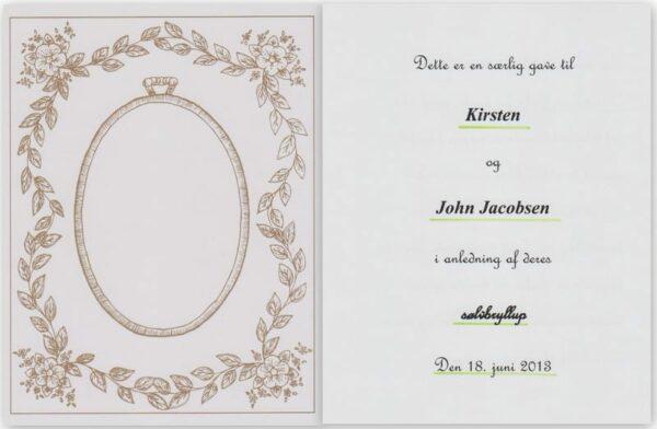 Bryllupdagsbogen – mindebogen-591