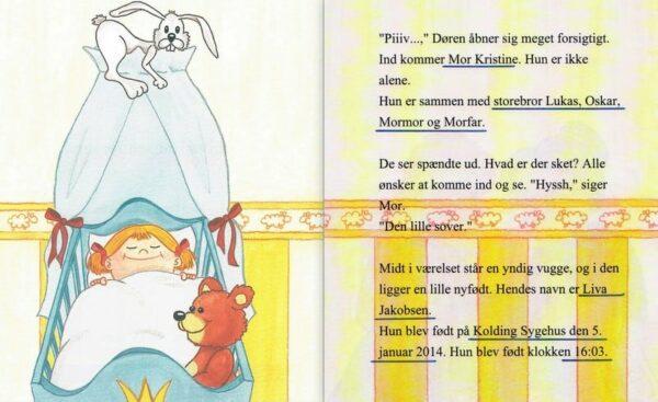Babybogen - barnets første bog - enlig mor-1296