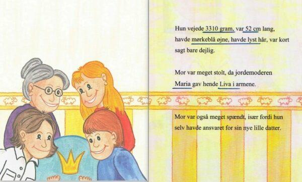 Babybogen - barnets første bog - enlig mor-1283
