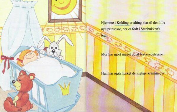 Babybogen - barnets første bog - enlig mor-1303