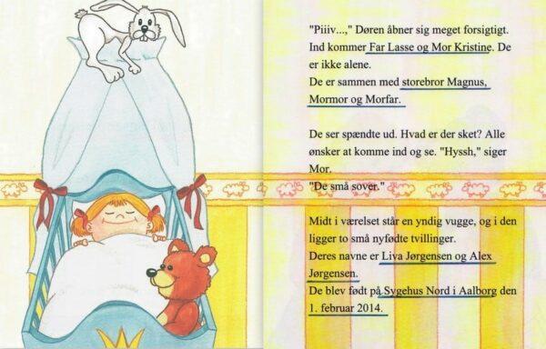 Barnets bog til tvillinger - Babybogen-1331