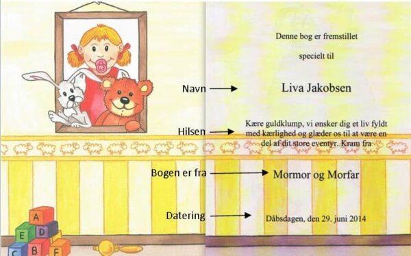 Babybogen – barnets første bog – enlig mor-1298