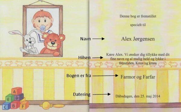 Babybogen - min første bog til trillinger - 3 bøger-1314