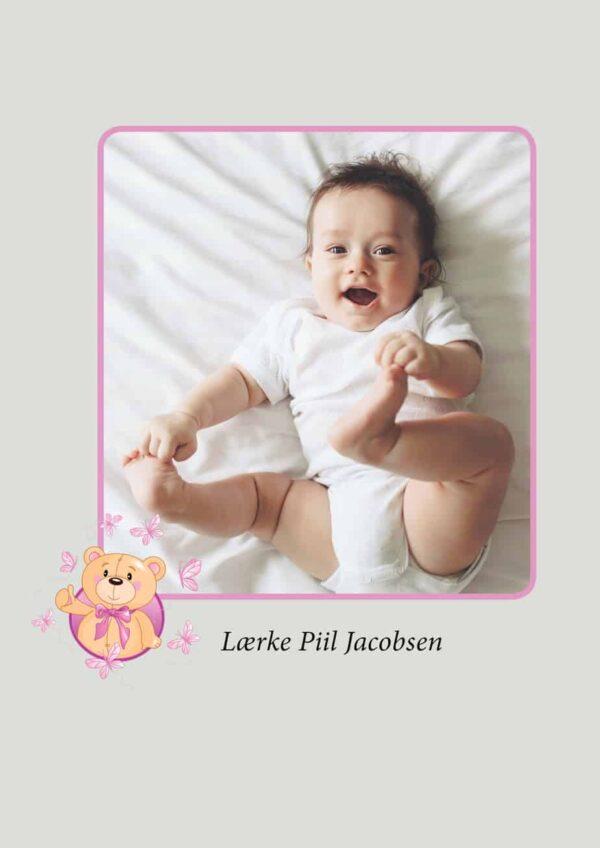 Gæstebog til barnedåb - pige-2215