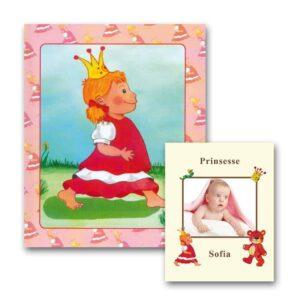 Babybogen - Barnets Bog til pige - med foto fra Min Personlige Bog