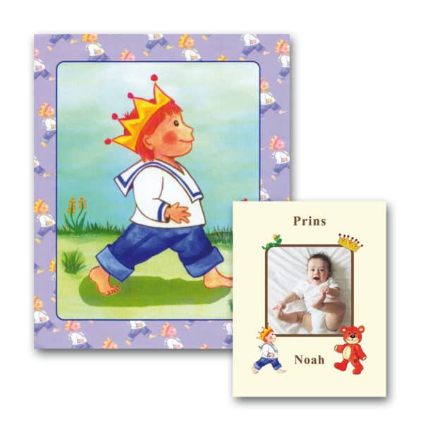 Babybogen - personlig børnebog med foto fra Min Personlige Bog