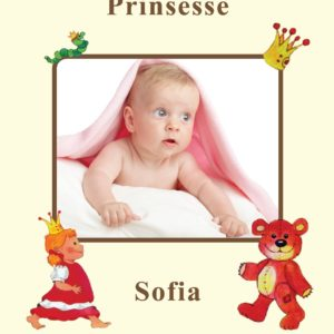 Fotoside til Babybogen pige