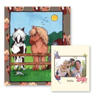 Hestebogen - personlig børnebog med navn og foto
