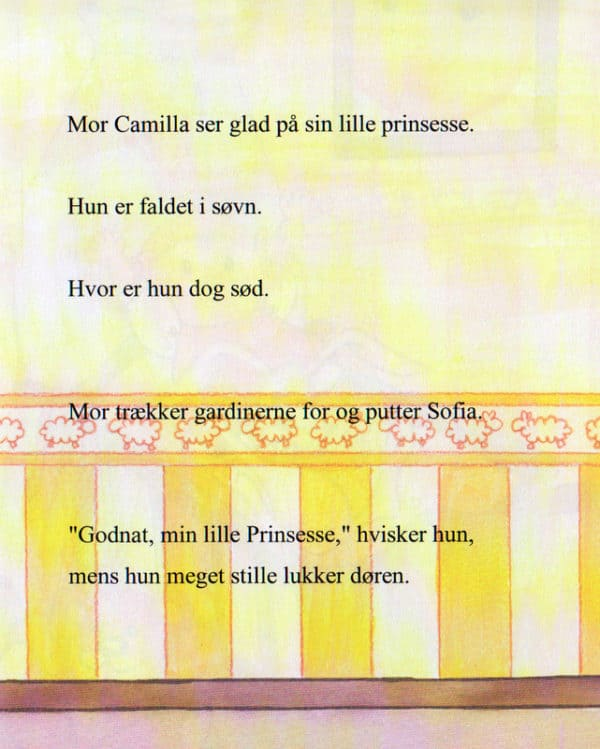 Babybogen pige – sidste side