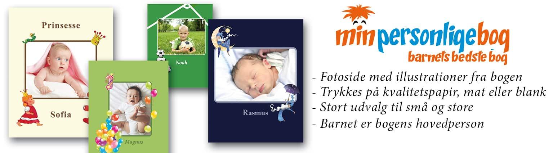 Børnebøger med navn og billede