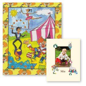 Cirkusbogen - personlig børnebog med foto
