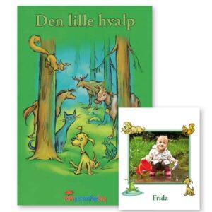 Den lille hvalp med egen foto - personlig børnebog fra Min Personlige Bog
