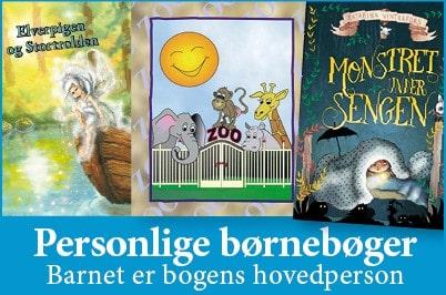 Personlige Børnebøger - Barnet er bogens hovedperson - Min Personlige Bog