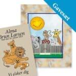 gavesæt zoo løve bog